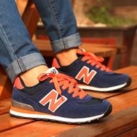 Wholesale New arrival Balance casual sport shoes for men women Sneaker Lovers shoes Jogging shoes size