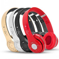 Wholesale New S460 Stereo Bluetooth Headphones Foldable Wireless Sport Headset Handsfree Earphone TF card with Microphone For Mobile Phone