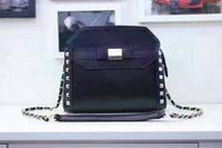 Wholesale 2017 Boston women shoulder bag fashion elegent lady girl handbag tote handbags designer brand fashion women classic flap Caviar leather cm