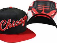Precio de Snapback de los toros de baloncesto-Los nuevos sombreros del Snapback de Gorras de los toros de Hip Hop de la marca de fábrica forman el sombrero adulto ajustable del casquillo de béisbol del baloncesto de la manera deshuesa el envío libre de Chicago