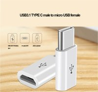 Wholesale USB3 typc C convert male adapter to micro usb female for universal use of meizu xiaomi huawei letv etc type c devices