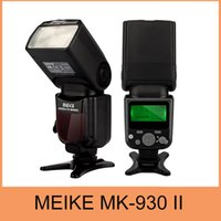 Precio de Meike flash de la cámara-Venta al por mayor-Meike MK930 II, MK930 II como Yongnuo YN560II YN-560 Flashlight II II Para las cámaras de Fujifilm