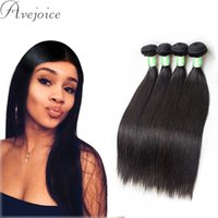Wholesale 8A Brazilian Virgin Straight Unprocessed Brazilian Straight Hair Bundles with Natural Black Peruvian Indian Malaysian Human Hair Weave