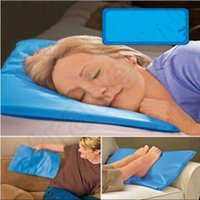 Wholesale Chillow Cooling Pillow Ice Pillow Ice Cool Pillow Therapy Insert Sleeping Aid Pad Mat Muscle Relief OOA1183