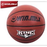Wholesale Winmax New Arrival Professional High Quality Size PU Leather Basketball Ball for Man Customization Available