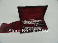 Wholesale Student Series C key Oboe Key Nickel Plated Bakelite Tube Oboe Musical Instrument With Case