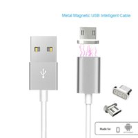 Wholesale Magnetic A Micro USB Cable Charger Adapter For Samsung LG XIAOMI Lenovo HUAWEI Moto HTC Sony Xperia USB cable Magnetic charger