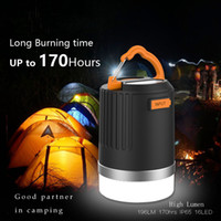 Wholesale coolACC modes Camping Ligth Battery Recharger mah Camping Lamp rechargeable Power Bank Light Weight Camping Llight LP1