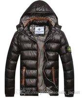 Wholesale 2016 Mens Winter Coat Winter Stone Jacket Men Cotton Brand Clothing Jackets Parkas Mans ISLAND cotton Coats