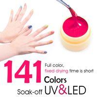 Wholesale CANNI Nail Art Products LED UV Nail Art Gel Paint UV Gel Kit Color