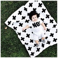 2 years Up black receiving blanket - baby blankets kids Newborns Blanket Baby Bedding Blanket Swaddle x115 Flannel Receiving Blankets Cross Fashion Swaddle baby cribs