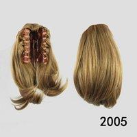 Wholesale claw ponytail rabo de cabelo ponytail hairpiece acessorios para cabelo color
