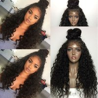 best wig outlet wigs - Best Brazilian Indian Deep Curl Remy Virgin Hair Lace Front Human Hair Wigs for Black Women Greatremy Factory Outlet Full Lace Natural Hair