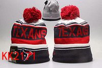 bamboo houston - free ship New winter Hot Texans Football Pom Houston Beanies Football Beanies Knit Beanie Hats Warm Winter Caps Sports Team Hats