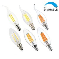 base solution - led lights Dimmable led candle light W W W E14 E12 Dimmable Solution LED Candelabra Base Bulb Edison Chandelier Candle Lights