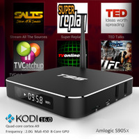 android no led - S905X Android TV Box metal case T95 KODI XBMC fully loaded Quad Core Led display Smart K Streaming Media Player WIFI Bluetooth4 supported
