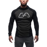 athletic letter jackets - The explosion of men s athletic running cotton sweater sweater slim men outside jacket