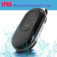 Wholesale 2016 New Personal Mini Waterproof Real time GPS Tracker GSM SOS Alarm GPRS with Google Map for Pet Animal Kids Vehicle