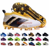 ace shoes - Ace Purecontrol Primeknit Soccer Cleats Firm Ground Cleats Trainers NSG FG CG ACE Mens Football Boots Soccer Shoes With Box