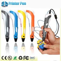 best new printers - New Creative D Printing Pens Intelligence Drawing D Pen With ABS Filament D Best Gift for Kids Printer Pens