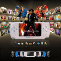 Wholesale Hot sales GB Inch PMP Handheld Game Player MP3 MP4 MP5 Player Video FM Camera Portable Game Console