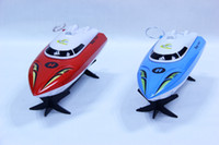 Wholesale 1pc Brand new Fashion Electric RC Speedboat Interactive Remote Control Boat Cruise Display Box Drop Shipping Children s Present