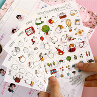album photo book - New Cute Lovely Rabbit Sheet Paper Stickers for Diary Scrapbook Book decoration DIY Personalized Photo Album Cartoon stickers