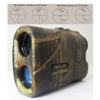Wholesale 400M Hunting Camouflage Laser Range And Speed Finder X Laser Rangfinder Distance Measure Telescope High Speed Instrument