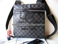 Wholesale France luxury brand L M40044 N51111 shoulder bag mens MESSENGER bag designer Cross Body Satchel small pouch black PLAID purse coregoal2008