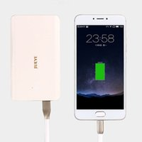 Wholesale Ultra Portable dual USB output mAh Mini Power Bank External Charger Battery Power Pack for iPhone iPad Samsung Nexus HTC Huwei and More