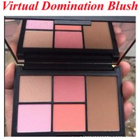Wholesale N rs Virtual Domination Cheek Palette Laguna Bronzer Deep Throat Blush Highlighting Blush Powders Blushers Bronzer XMAS Limited Edition