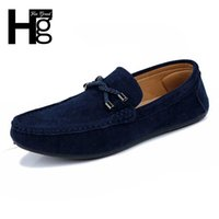 aa twist - HEE GRAND Casual Twisted Men Shoes Comfortable Men Loafers Driving Slip on Solid Flock Flat Shoes XMR943