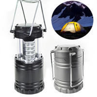 Wholesale Portable Camping Tent Lamp LED Lantern Operated Battery Stretchable Suitable for Hiking Camping