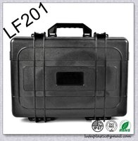 Wholesale waterproof safety seal equipment case tool box black yellow green waterproof safety seal equipment with pre cut foam lining