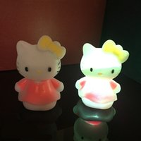 baby projector nightlight - Creative Cute LED Nightlight Lamp Projector Battery Baby Child Sleeping Nightlight Color Changing Party Lights Christmas Novelty Toys Gift