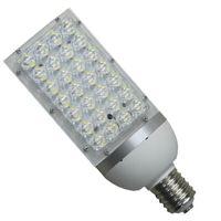 Marketplace aluminum cfl - DHL LED corn lights E27 E40 base W street light canopy light HID CFL replacement aluminum housing AC85 V