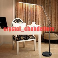 Wholesale LED Floor Lamp For Living Room Swing Arm Adjustable Balcony Reading Light K Floor standing lamps
