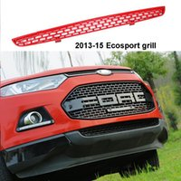 Wholesale FREE SHIPMENT CAR Accessories Front ABS Grill for ECOSPORT FRONT RAPTOR BLACK LIT GRILLE GRILL FOR ECOSPORT