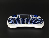 Wholesale Rii I8 Keyboard Wireless Backlight Air Mouse Remote With Touchpad Handheld For TV BOX X96 T95 M8S MXQ PRO Plus