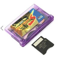Wholesale Purple Burning Disk Mini SD Card for GBA IDS NDS NDSL SP GBM