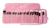 Synthetic fiber beauty trade - 32 brown all color makeup makeup brush set mini type foreign trade sales beauty makeup tools manufacturer