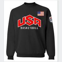 basketball team hoodies - new team USA basketball jersey autumn hoodies fashion men sweatshirt streetwear brand funny hip hop sport fleece harajuku