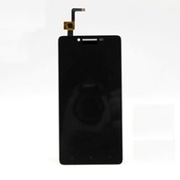 Wholesale For Lenovo A6000 Black Full New LCD Display Panel Touch Screen Digitizer Glass Lens Assembly Replacement