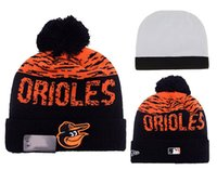 baltimore orioles gifts - NEW HOT Sport KNIT MLB BALTIMORE ORIOLES Baseball Club Beanies Team Hat Winter Caps Popular Beanie Fix Cheap Gift Present