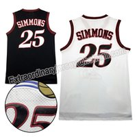 Wholesale 2016 New men Ben Simmons Jersey Retro Mesh Ben SIMMONS Jersey stitched Jersey Cheap sales fast