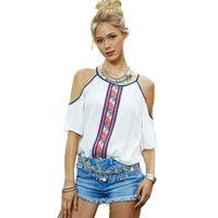 Wholesale New Women s Tops Summer Style Fashion White Camisole Loose Slim Women Chiffon Blouse Tank Tops