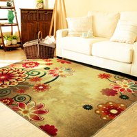 Wholesale European Embroidery Flowers blossoming classical carpet nylon non slip living room rug size MMX2500MM