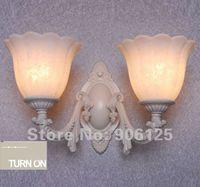 beautiful lamp shades - Bedside Wall Lamp Glass Wall Scone Wall Lamp with Beautiful Flower Shade Guaranteed