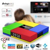arabic tv - T95K PRO Arabic Amlogic S912 Android TV box Octa Core G G Smart TV KODI16 Dual WIFI Bluetooth UHD K Media Player