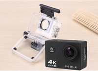 Wholesale New WIFI with Romote Control K Waterproof Sports Camera P HD Action Camera Factory Direct